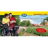 Brückenradweg Osnabrück-Bremen, Spiralo Querformat, Radwanderkarte 1:50.000