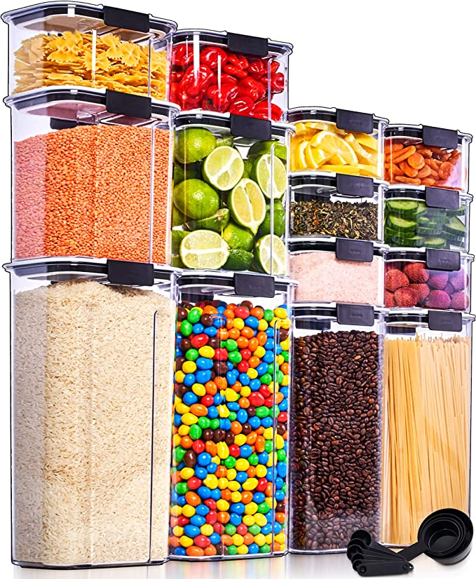 airtight food storage containers bulk