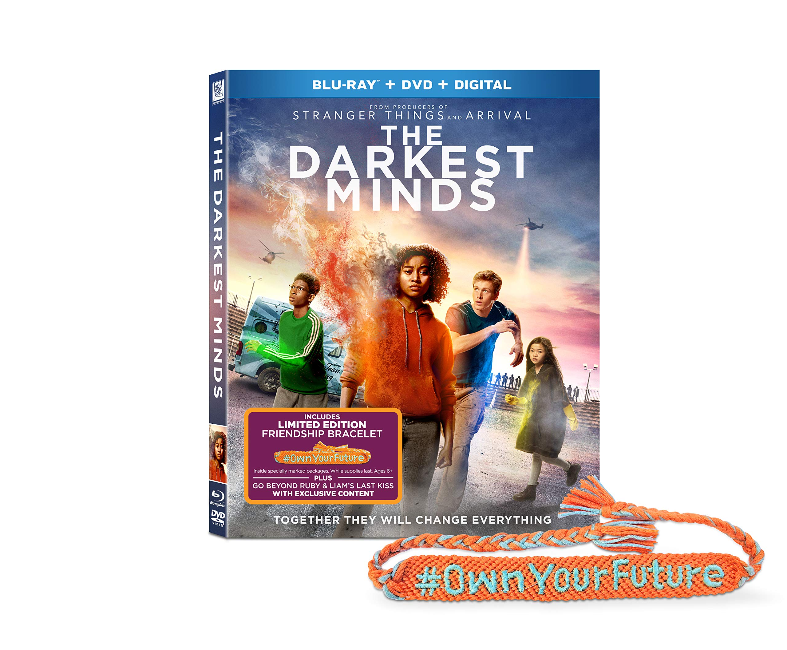 Blu-ray : Darkest Minds (With DVD, Gift with Purchase, Digital Copy)