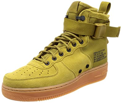 9389599f324e2 Nike Men s s Sf Air Force 1 Mid Gymnastics Shoes  Amazon.co.uk ...