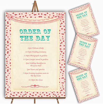 Pink Roses - Tarjeta de felicitación de boda, diseño de guirnalda ...
