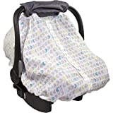 Summer Infant Muslin 2-IN-1 Infant Car Seat Carry & Cover, Arrow Stripe
