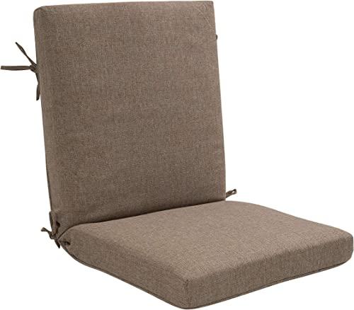 Decor Therapy 7260-01226837 Outdoor Dining Chair Cushion