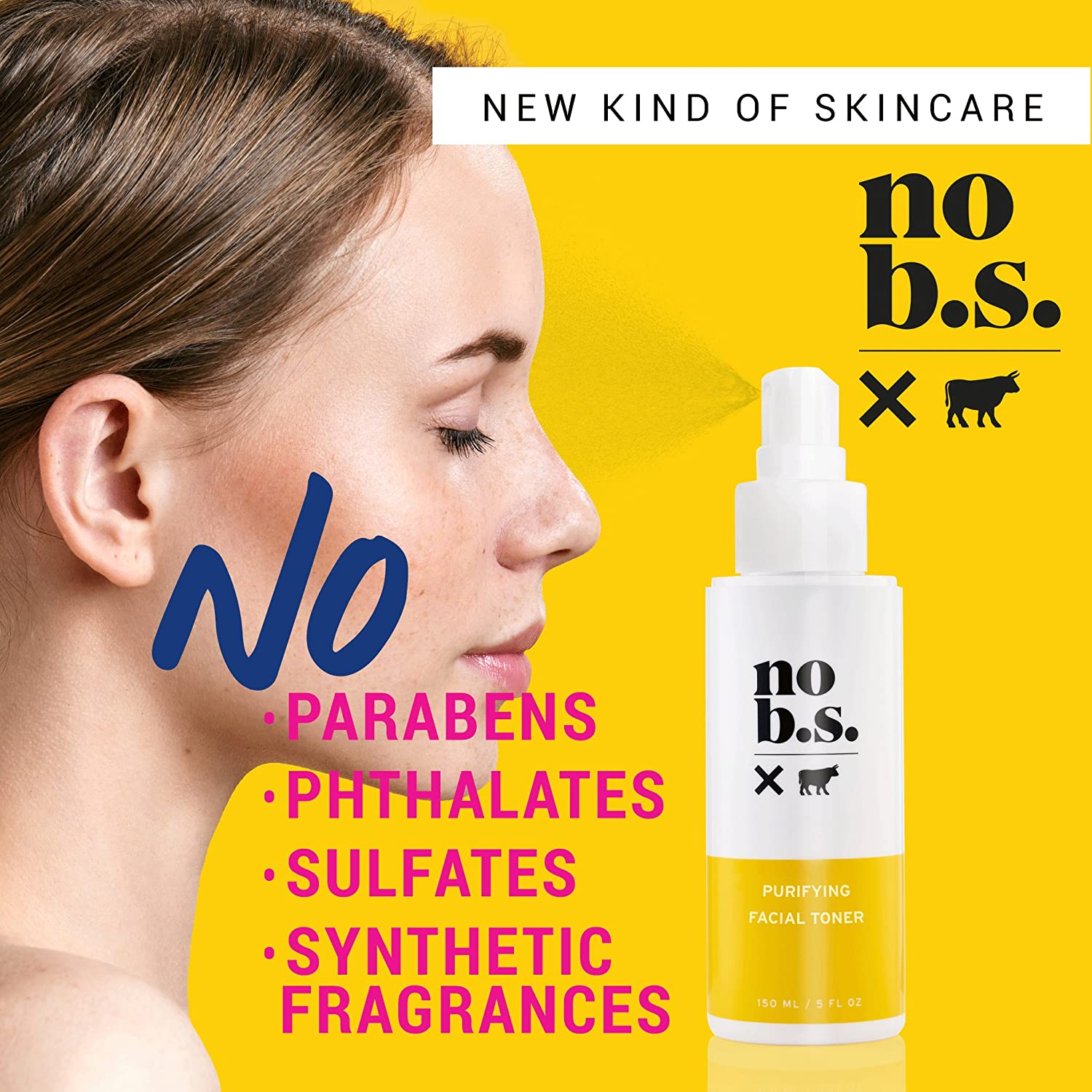 No B.S. Salicylic Acid Face Toner with Lavender, Tea Tree Oil and Witch Hazel – Pore Minimizer
