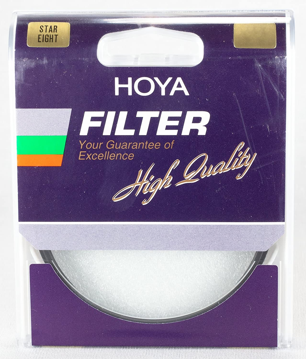 Hoya 82mm Eight Point Cross Screen Glass Filter 8X