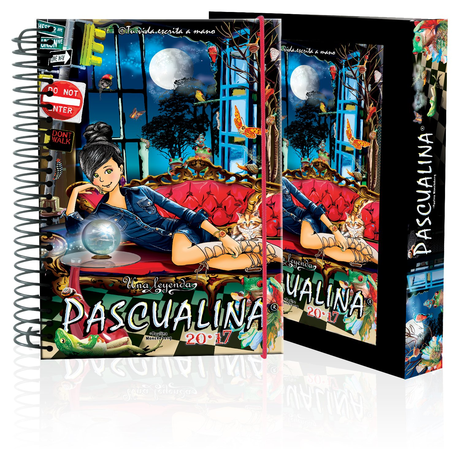 Pascualina 2017 - Eclectic Nights (Spanish) Spiral-bound – 2016