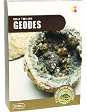 Kids Fun Craft Gift - Break Your Own Geodes Kit Ages 10+