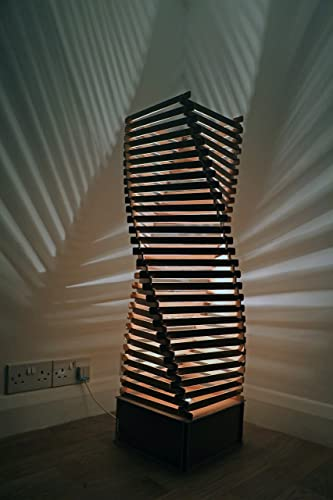 Floor lamp made from wood beautiful mood lighting floor lamp floor lamp made from wood beautiful mood lighting floor lamp ideal living room lamp aloadofball Images