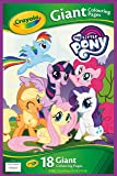 Crayola 04-0359-E-000 Entertainment One My Little Pony Giant Colouring Pages