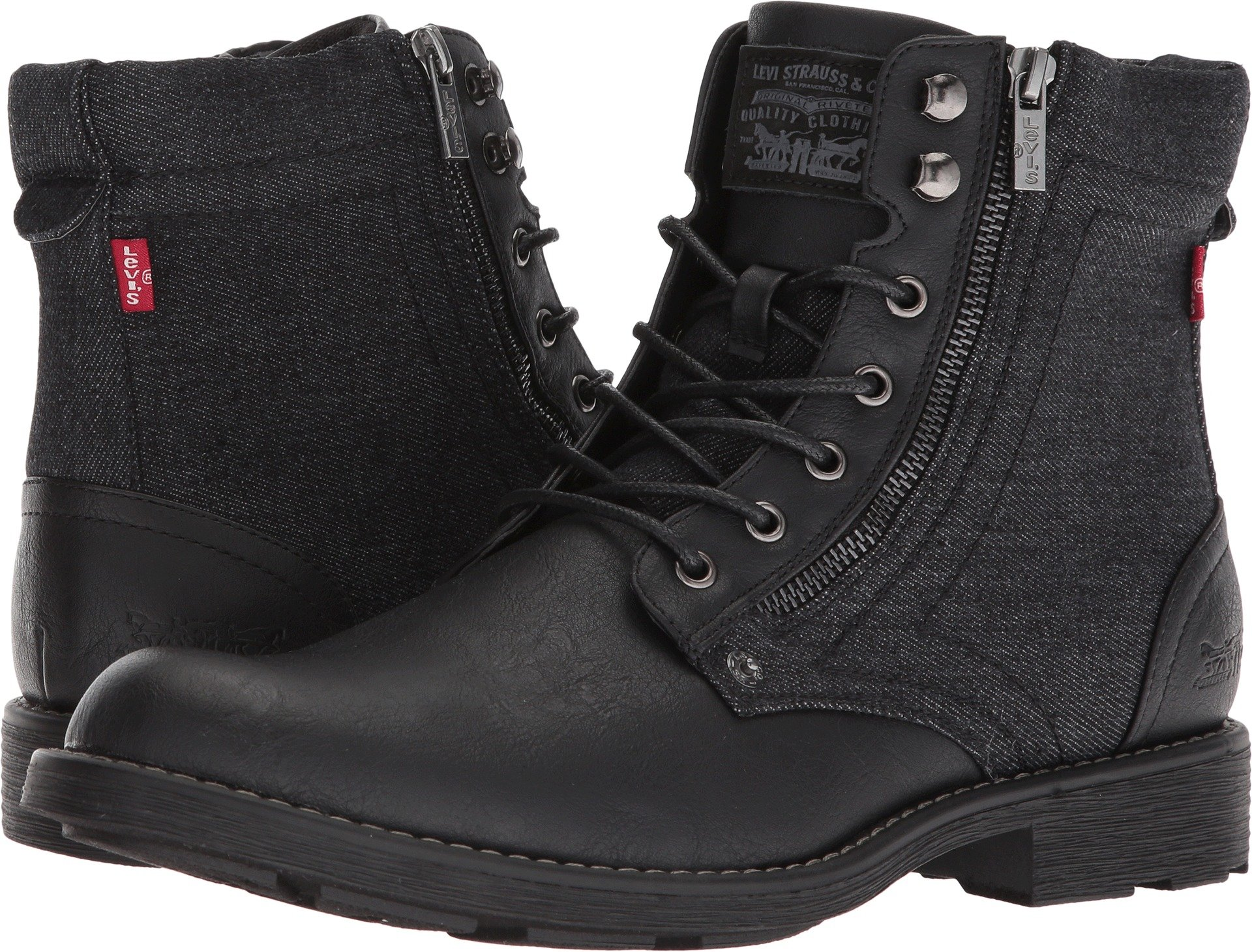 Levi's Shoes Men's Jacoby Denim Black Monochrome 10.5 D US