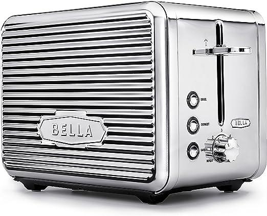 Amazon.com: Bella Linea 2 - Tostadora con ranura extra ancha ...