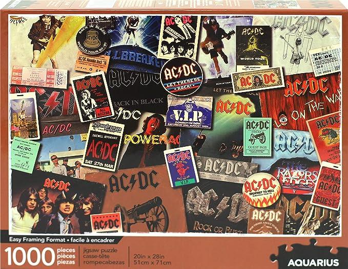 NMR DISTRIBUTION AC/DC Albums 1000 Piece Jigsaw Puzzle: Amazon.es: Juguetes y juegos