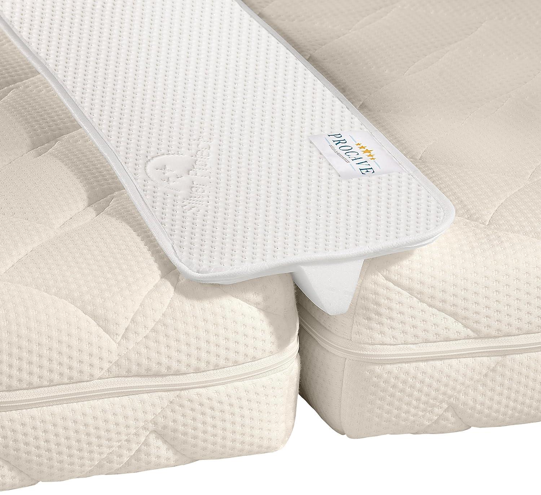 Procave Unisci-materassi per letto matrimoniale, con rivestimento protettivo, 25x 200cm Prezzi offerte