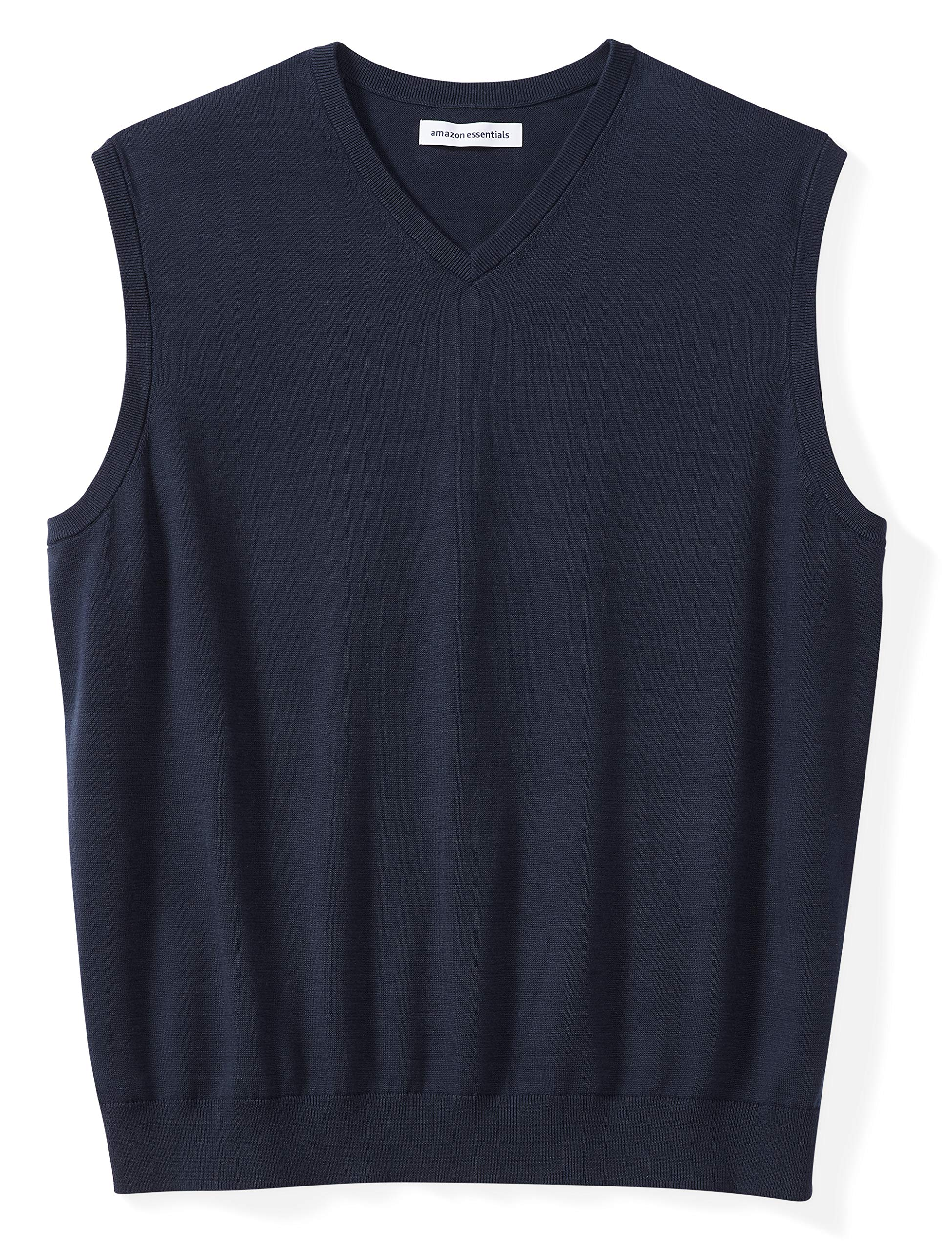 656df52e6ff4a7 Amazon Essentials Men s Big   Tall V-Neck Sweater Vest fit by DXL product  image