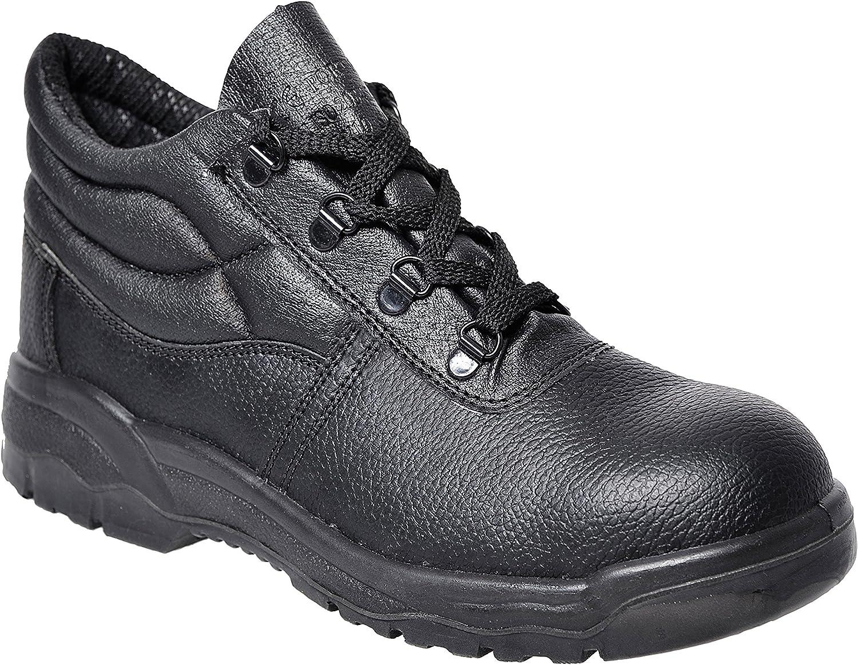 TALLA 52. Portwest Steelite Protector Boot S1P, Botas para Hombre