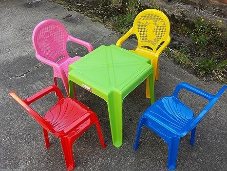 Siva Tavoli E Panche.Tavoli E Sedie Per Bambini Plastica Terredelgentile