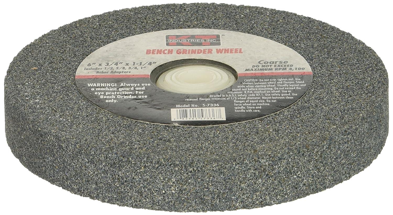 K-T Industries 5-7336 Coarse 6 x 3//4 Bench Grinder Wheel