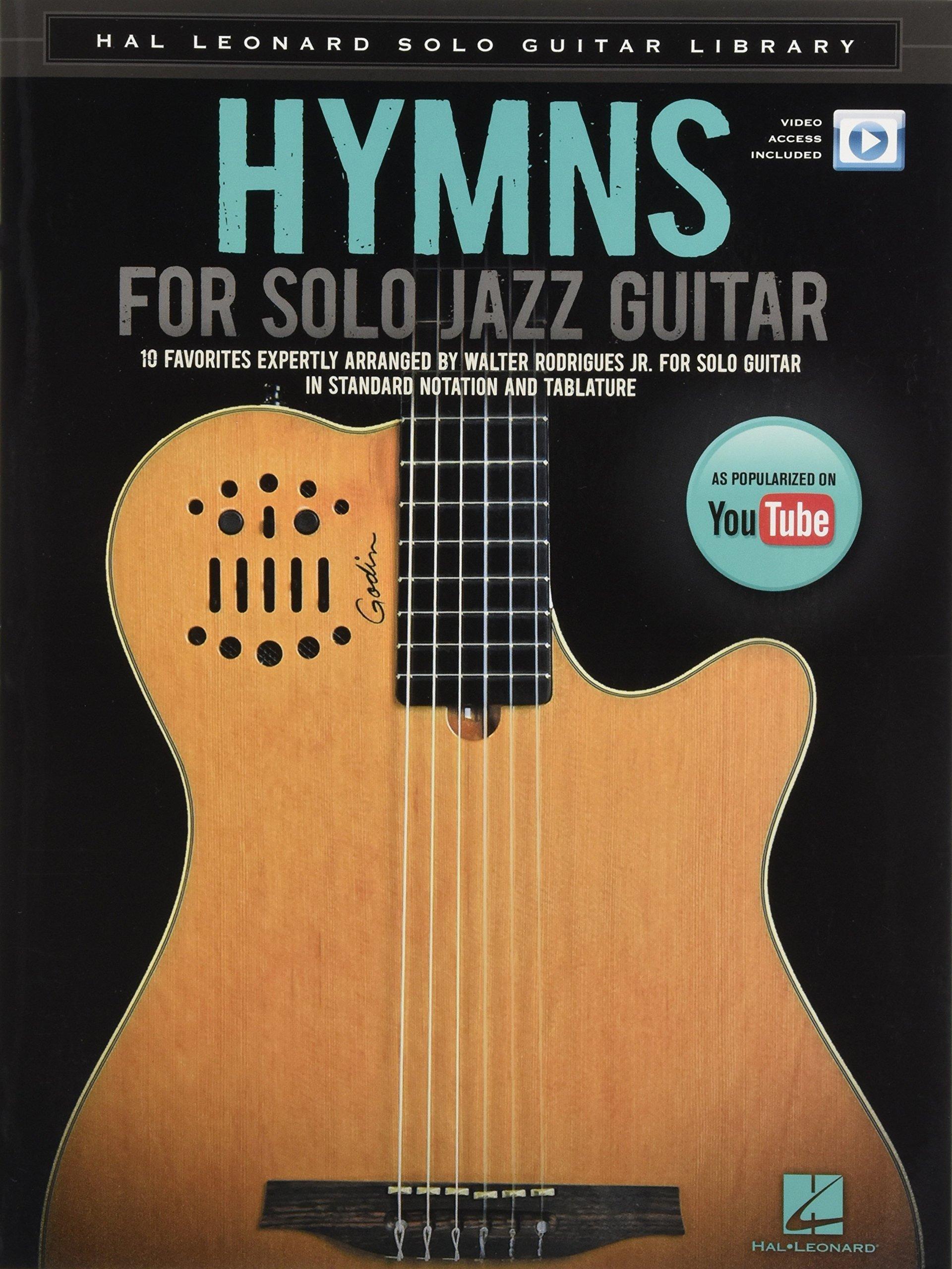 Amazon Hymns For Solo Jazz Guitar Hal Leonard Solo Guitar