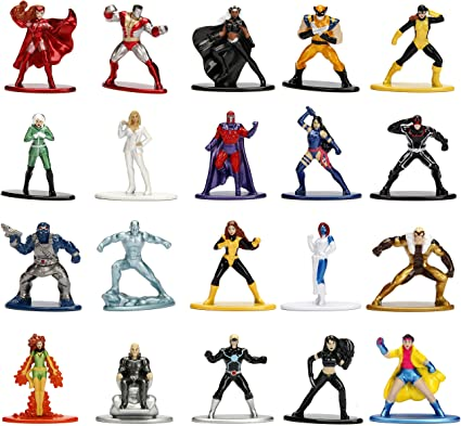 DC Nano MetalFigs *CHOOSE YOUR FAVORITE Set* die-cast NEW Jada Marvel