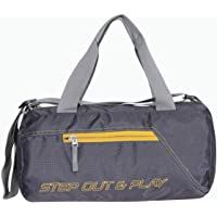 Nivia 5193JRDGR Polyester Round Bag (Grey)