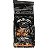 Frontier JD.WBC68.U.06 Jack Daniels Whiskey Barrel Charcoal Briquets and Smoker Blocks