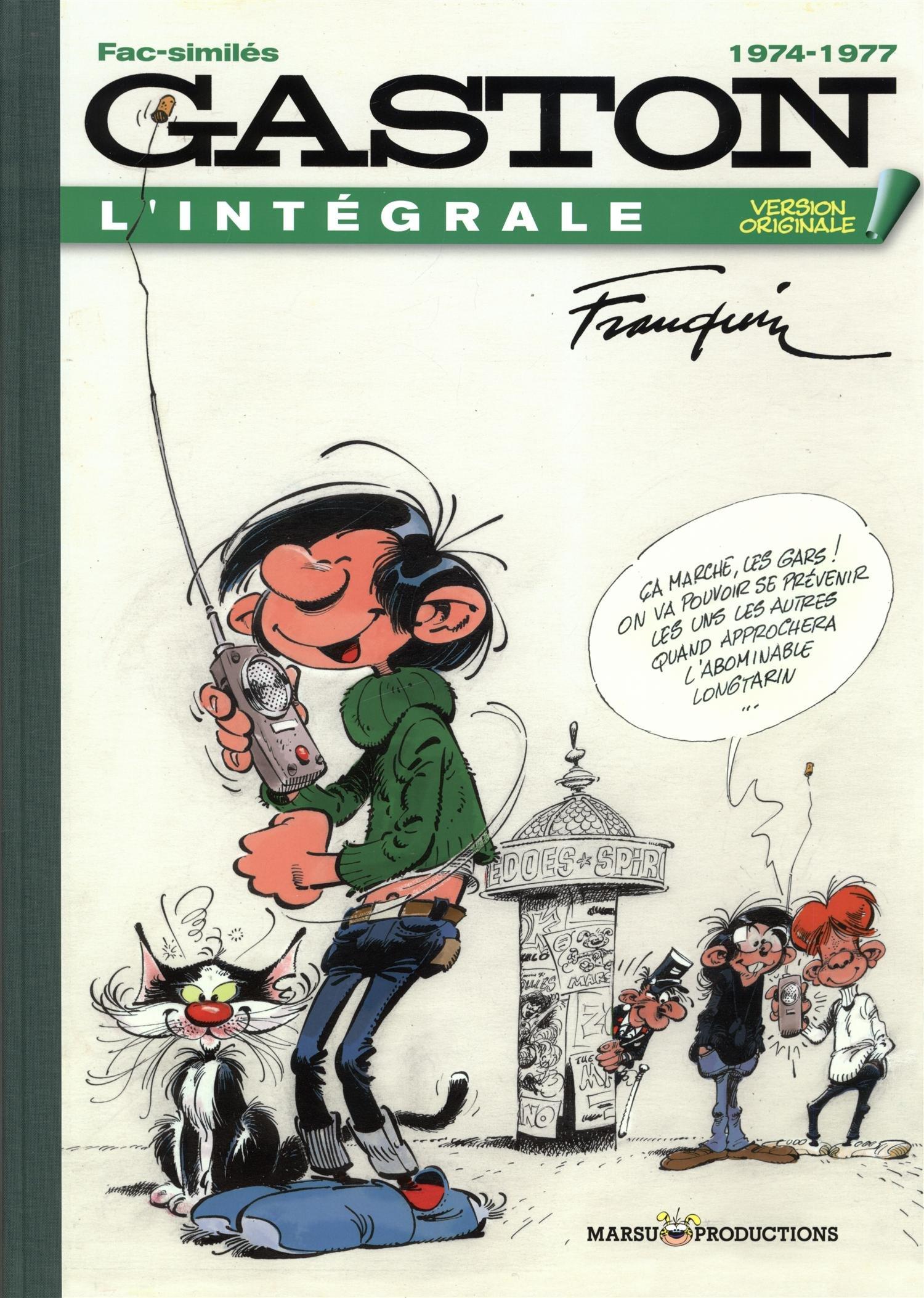 Gaston : Version originale T14 (L'intégrale 1974-1977)