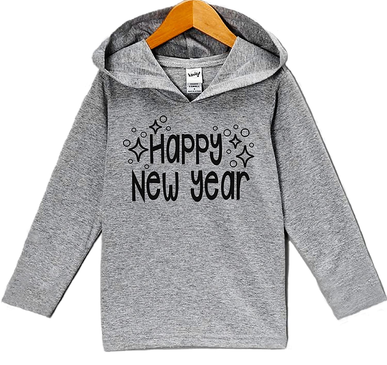 7 ate 9 Apparel Babys Happy New Years Hoodie
