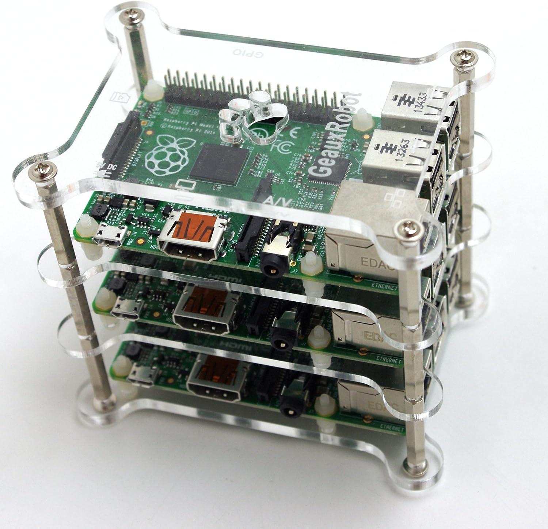geauxrobot Raspberry Pi 3 Modell B Hund Knochen Case: Amazon