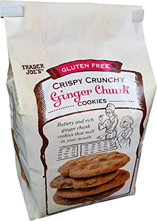 Comerciante Joe s sin gluten Ginger Chunk Cookies: Amazon ...
