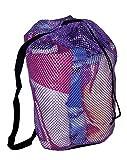 2 Pack -Baja Beach Mesh Bag with Shoulder Strap
