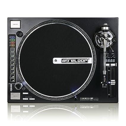 Amazon.com: Reloop rp8000 recto brazo DJ Tocadiscos Serato y ...