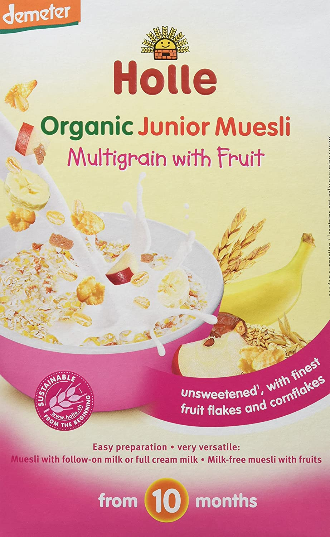 Holle Papilla de Muesli Multicereales con Fruta (+10 meses) - Paquete de 8 x 333.33 gr - Total: 2666.64 gr: Amazon.es: Alimentación y bebidas
