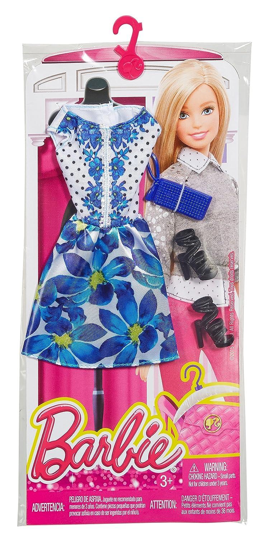 Barbie Complete Look Fashion Pack, Blue Floral Dress