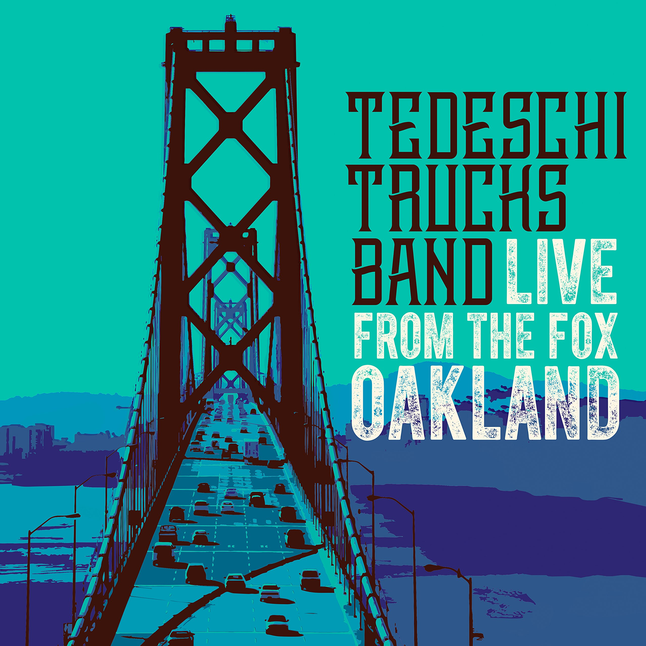 CD : Tedeschi Trucks Band - Live From The Fox Oakland (With Blu-Ray, 3 Disc)