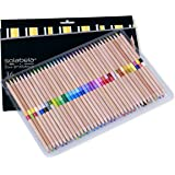 Solabela® 36 Bi-Color Colored Pencils 72 Vibrant Colors. Cedar Wood Barrels