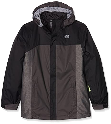 The North Face BOYS' BOUNDARY TRICLIMATE JACKET color: TNF BLACK size: SM (