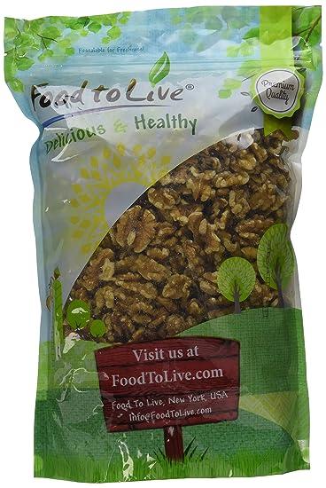 Food to Live Nueces crudas (sin cáscara) 1.1 Kg