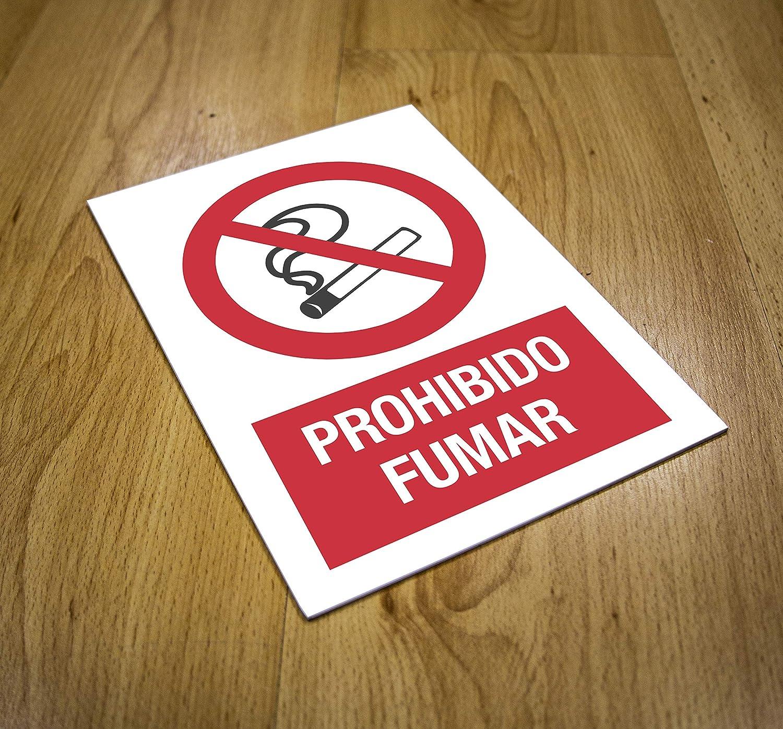Cartel prohibido Fumar | Señalización | Rótulo informativo ...