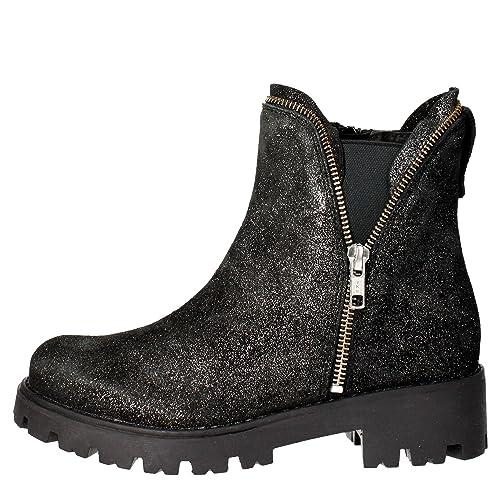 Cult CLJ101632 Botines Mujer Gamuza Gris Antracita Gris Antracita 35: Amazon.es: Zapatos y complementos
