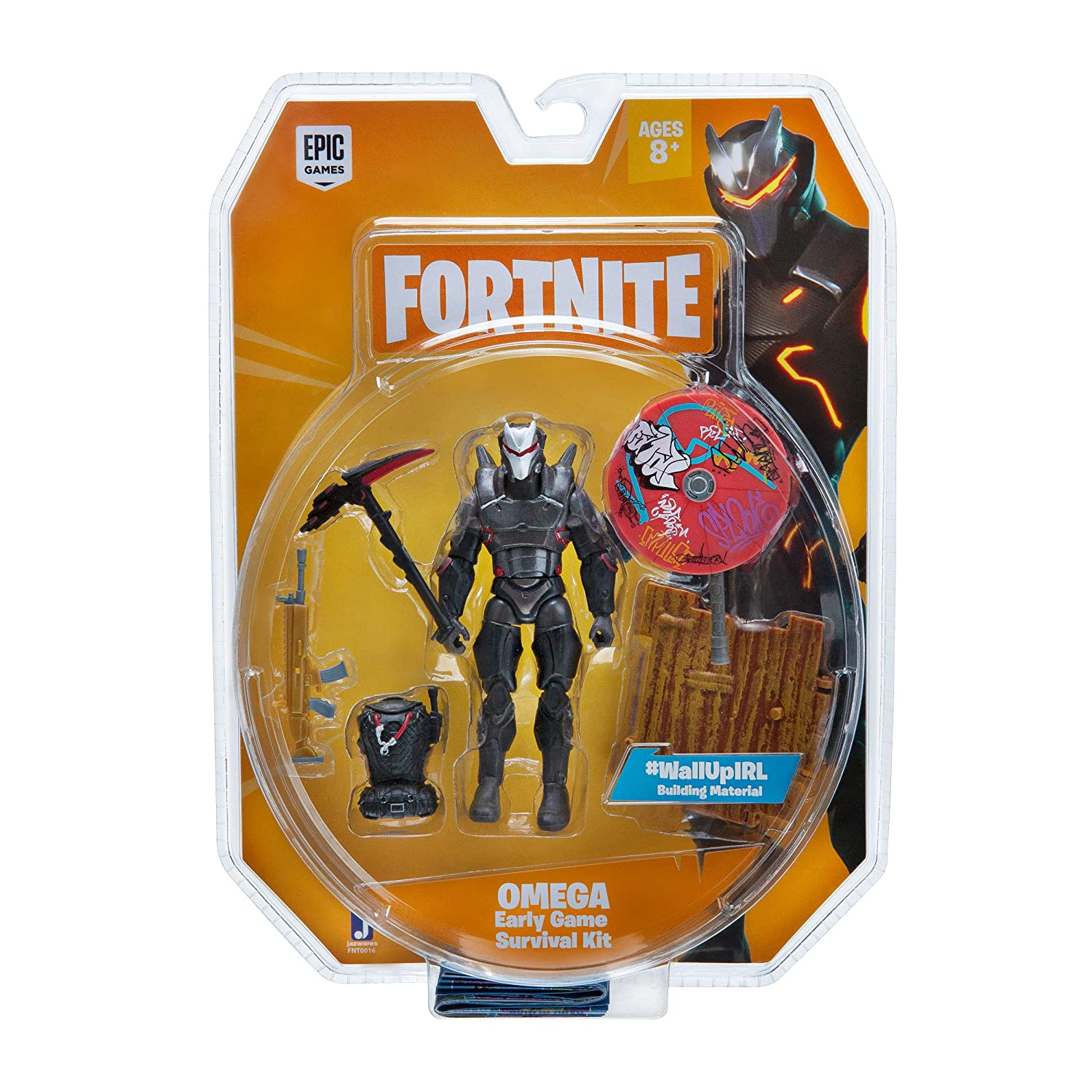 Fortnite Early Game Survival Kit Figure Pack Omega