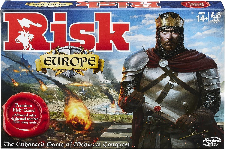 Hasbro HASB7409 Risk Europe Juego de Tablero: Amazon.es: Juguetes y juegos