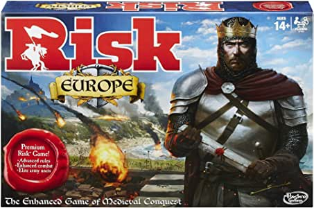 Risk European Edition Board Game