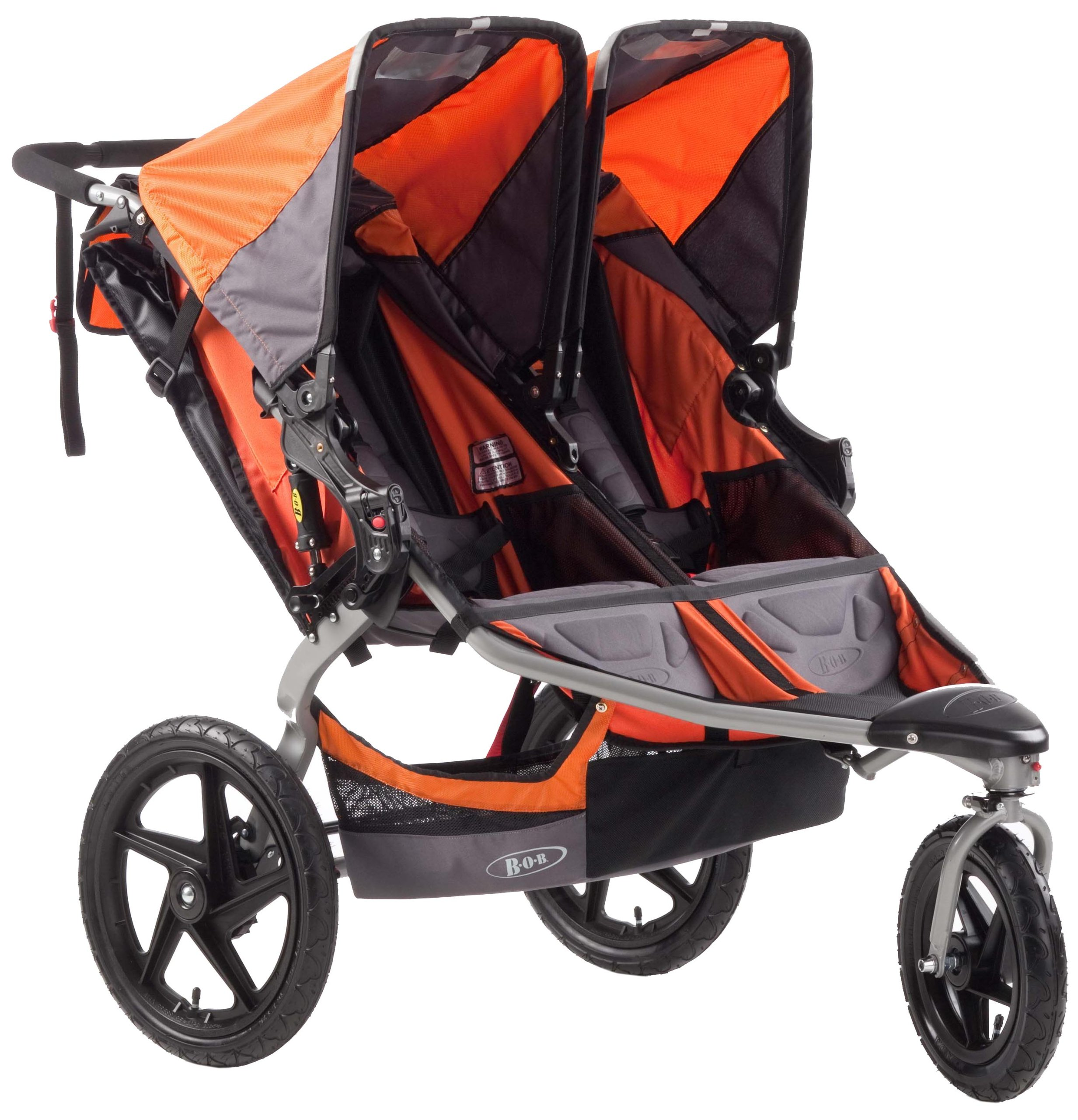 BOB Revolution SE Duallie Stroller, Orange by BOB Gear