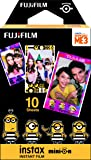 Fujifilm Instax Mini Instant Film (10 sheets, Despicable 3 Minions)