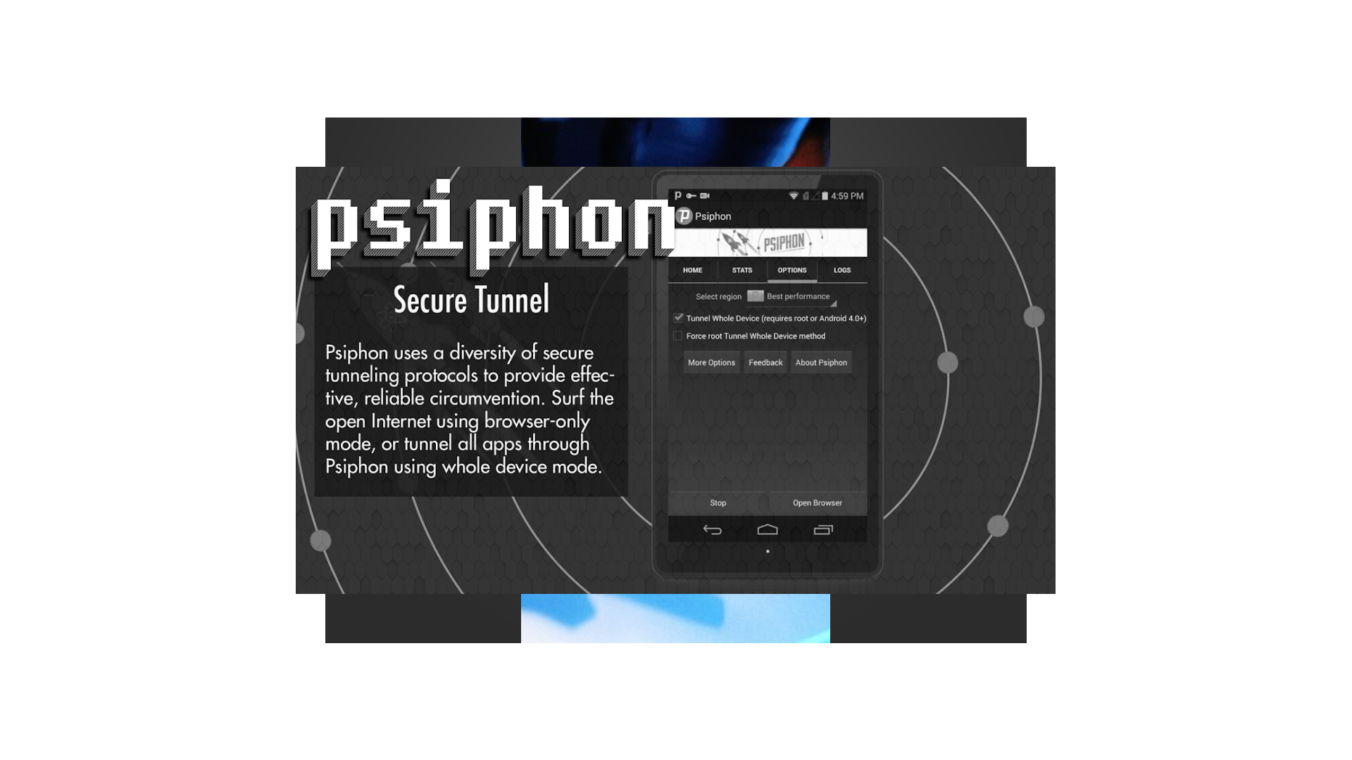 Amazon com: Psiphone Beta Pro Vpn: Appstore for Android