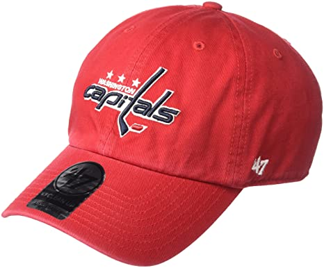 a83982686ccdd7 ... netherlands nhl washington capitals clean up adjustable hat one size  red d2346 6715b