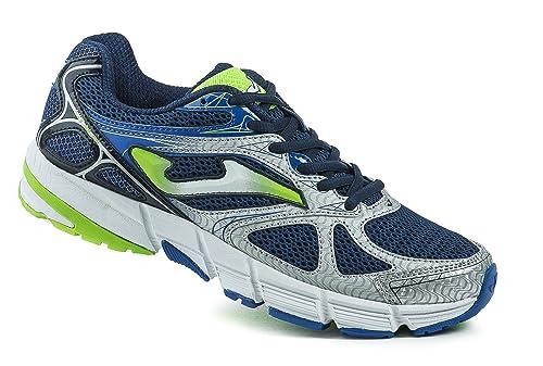 JOMA R.VITALY 602 Blanco-Azul - Zapatillas para Correr para Hombre, Color Blanco-Azul, Talla 47: Amazon.es: Zapatos y complementos