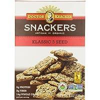 Dr. Kracker Organic Klassic 3 Seed Snackers, 170 gm
