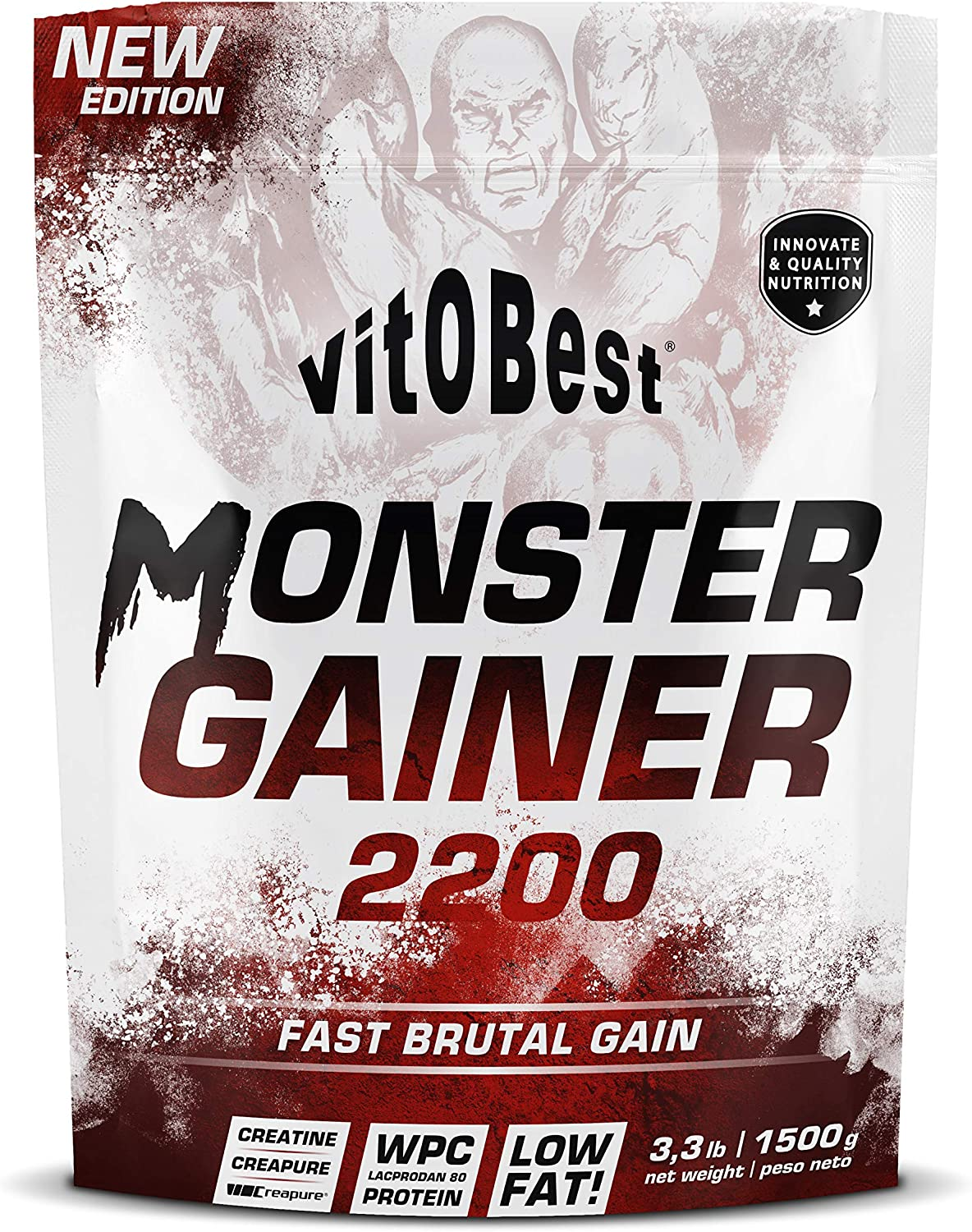 Carbohidratos MONSTER GAINER 2200 - Suplementos Alimentación y ...