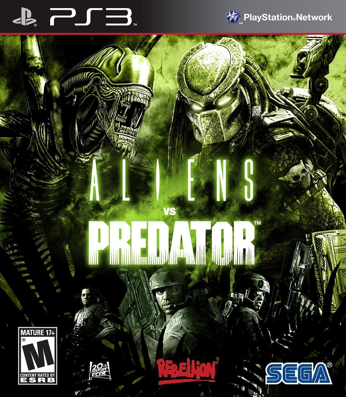 Aliens Vs Predator Playstation 3 Video Games
